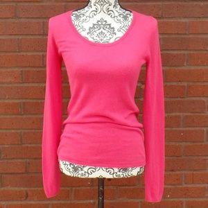 LOFT Hot Pink Light Weight Sweater XS
